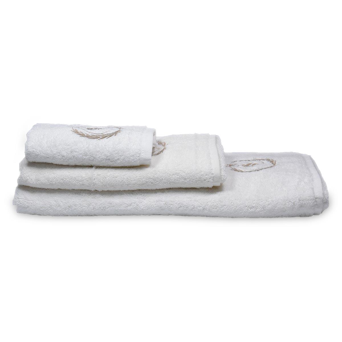 Set luksuznih peškira za lice, ruke i telo 500 g/m² - Ritz tri peškira