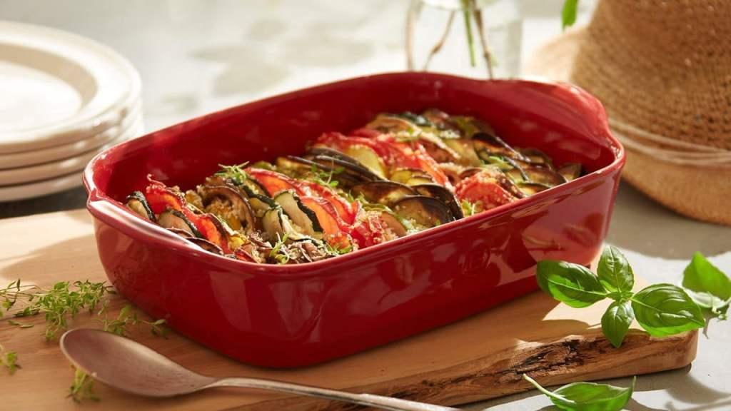 Keramički pekač bake and serve povrce