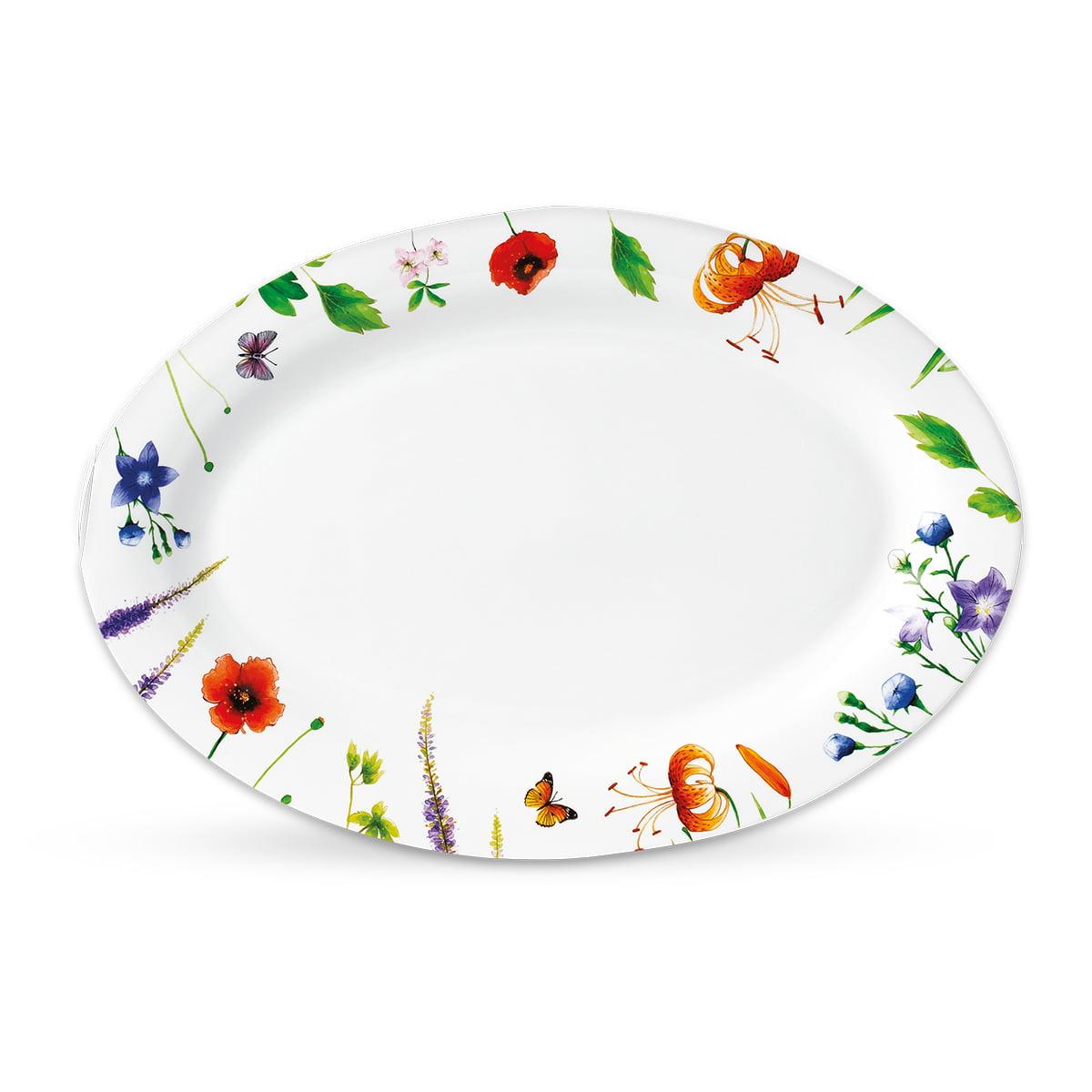 Butterfly porcelanski set za ručavanje 3 - Oval