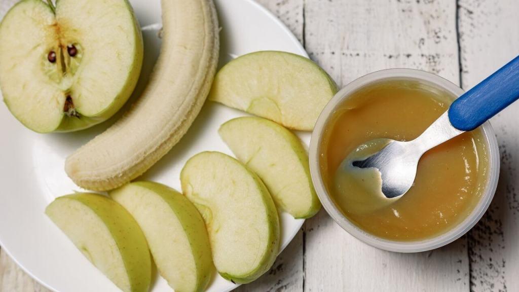 Kašica od jabuke, banane i pirinča