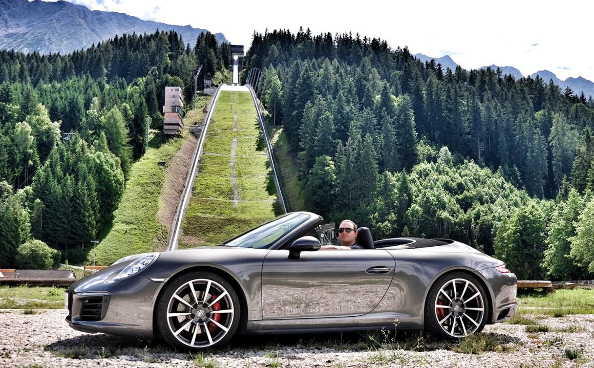 Porsche 911 Cabrio / Kulm Skiflugschanze
