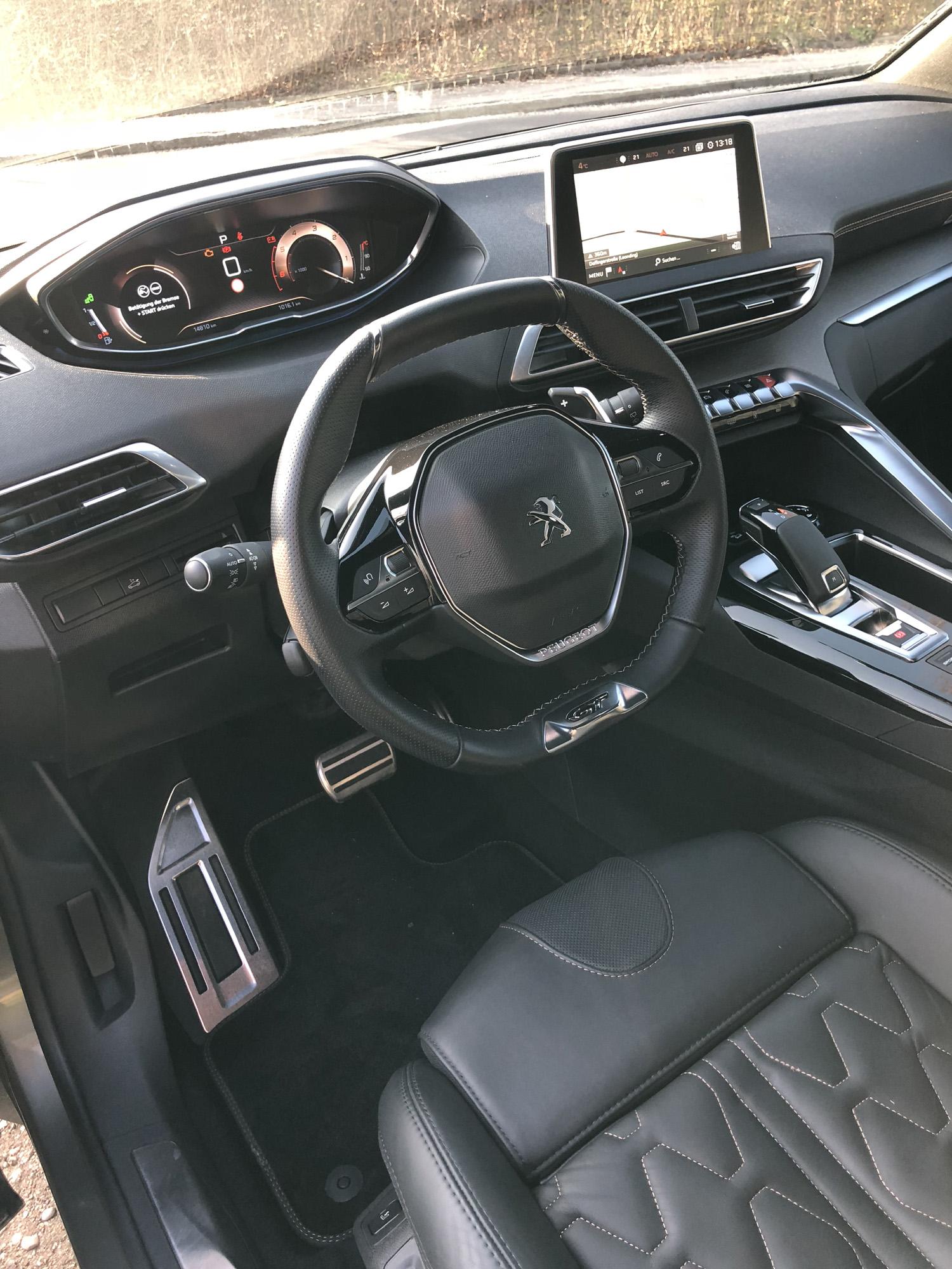 Peugeot 5008 Interieur – FAHRFREUDE.CC Autotests Fahrberichte Hoteltipps