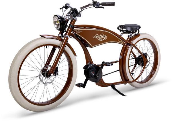 RUFF CYCLES The Ruffian Vintage Braun 2021 |Custombike