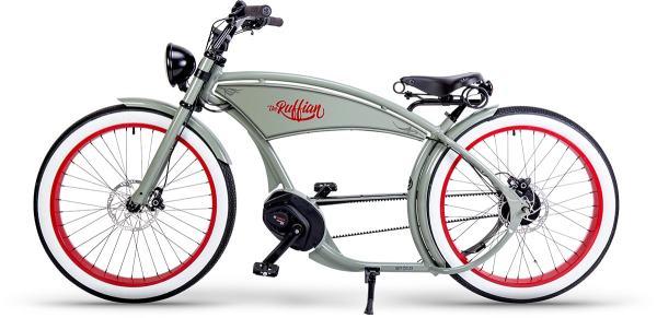 RUFF CYCLES The Ruffian Zementgrau 2021 |Custombike