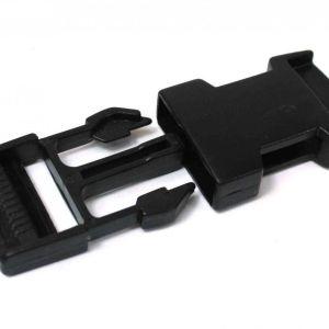 Qeridoo Plasikschloss für Bänder 2,5cm