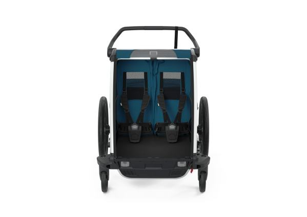 Thule Chariot Cross2 MajolicaBlue front
