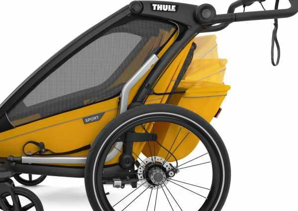 Thule Sport 2 gelb 2021 Seitenansicht