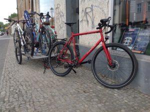 repariertes und geputztes Fahrrad