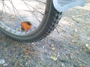 Nagel im Reifen