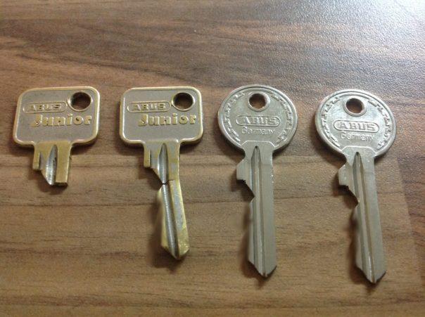 alte und neue Schlüssel