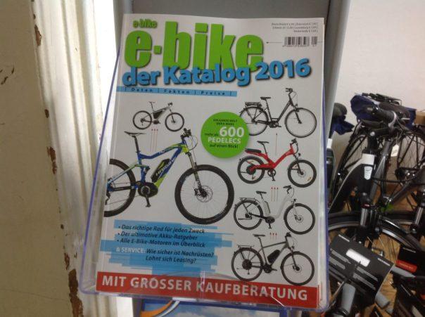 e-bike-Katalog