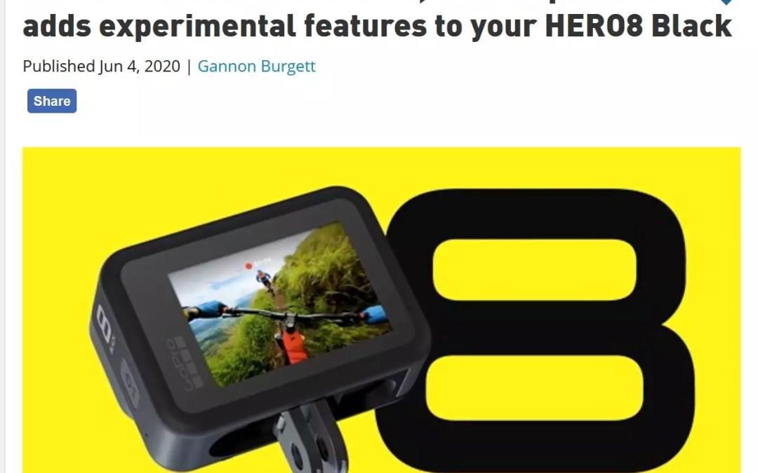 GoPro der König der Helmkameras entdeckt QR-Codes für sich