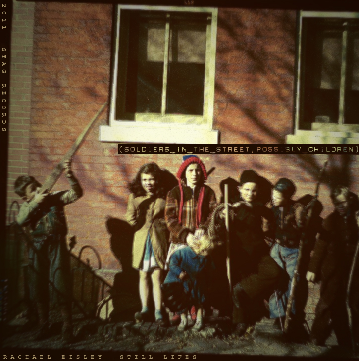 Soldiers in the Street, Possibly Children (Still Lifes), by Rachael Eisley (2011)