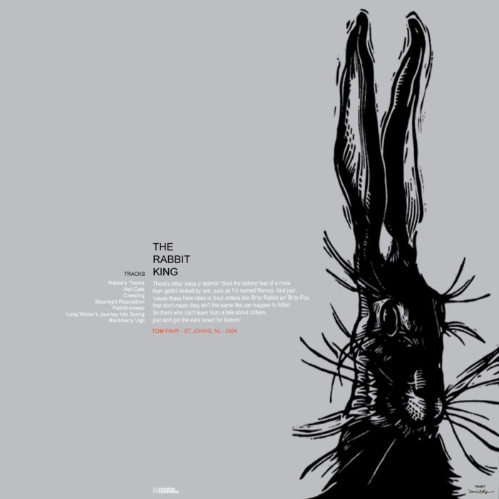 The Rabbit King, by Tom Fahy (2004)
