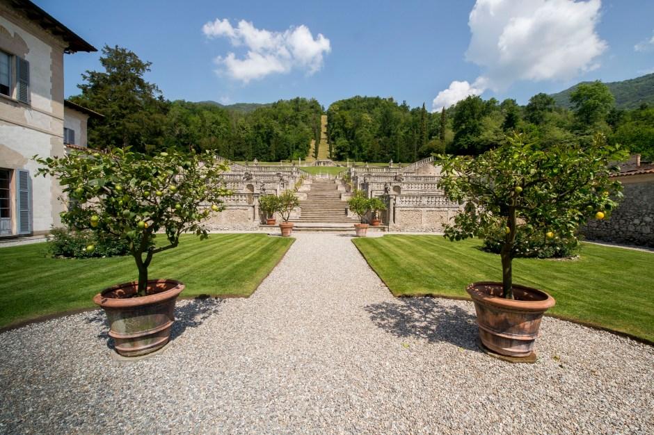 Jardins na Itália