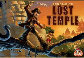 Lost temple cover