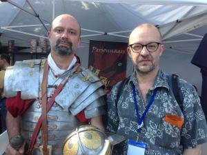 Impressive demonstrators for Romans Go Home!
