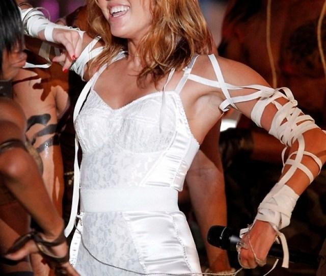 Miley Cyrus Pussy Slip