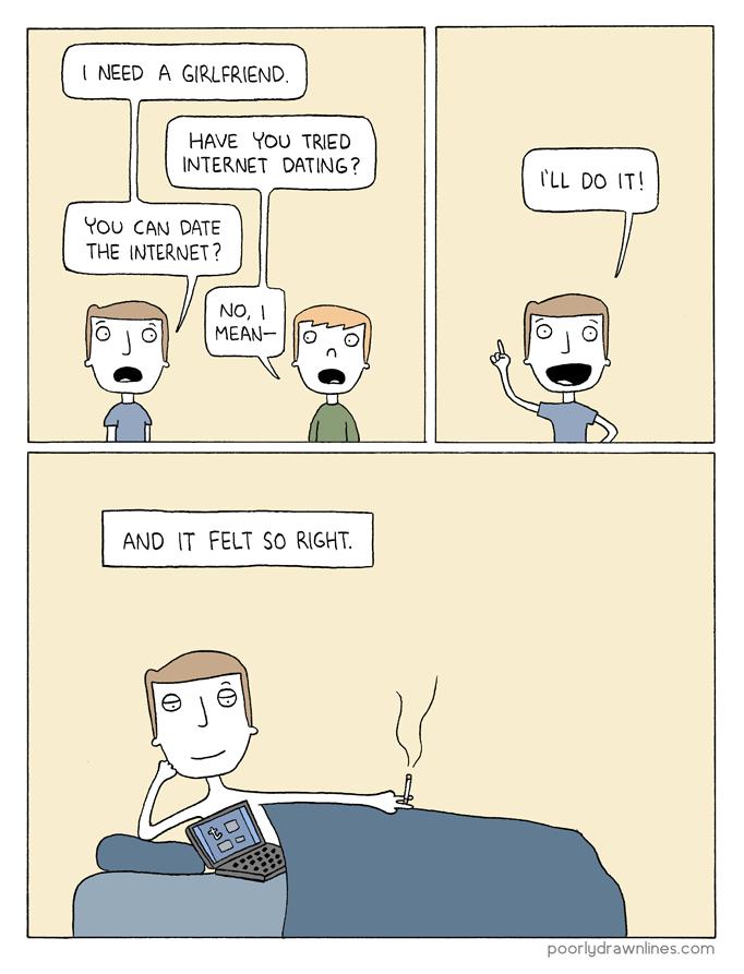 Internet dating comics