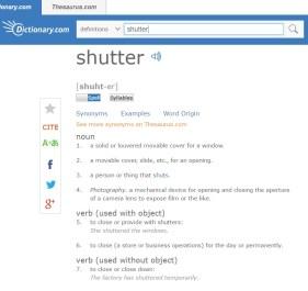 shutterdic