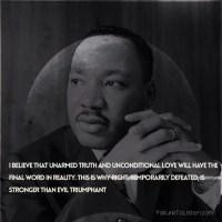 Martin  Luther King Jr - Wisdom Of Evil