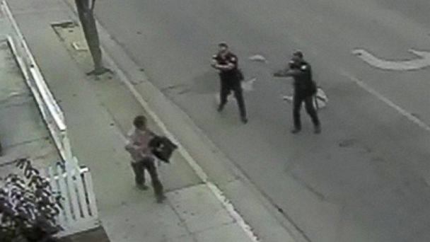 Police Brutality:  Two Police Officers Shoot Unarmed Hispanic Man in Cold Blood
