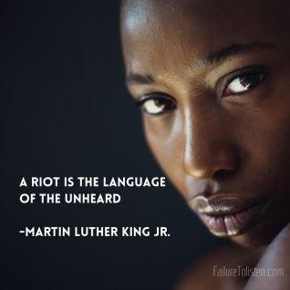 MLK riot