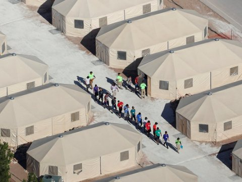 Federally contracted shelters for migrant children