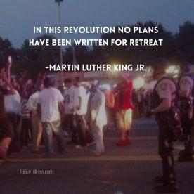 MLK no retreat