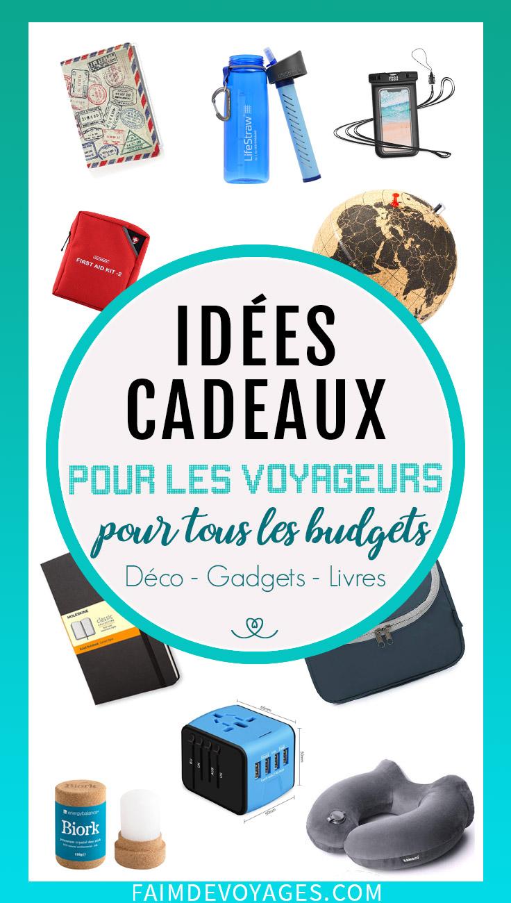 idees cadeaux pour les voyageurs et pour tous les budgets