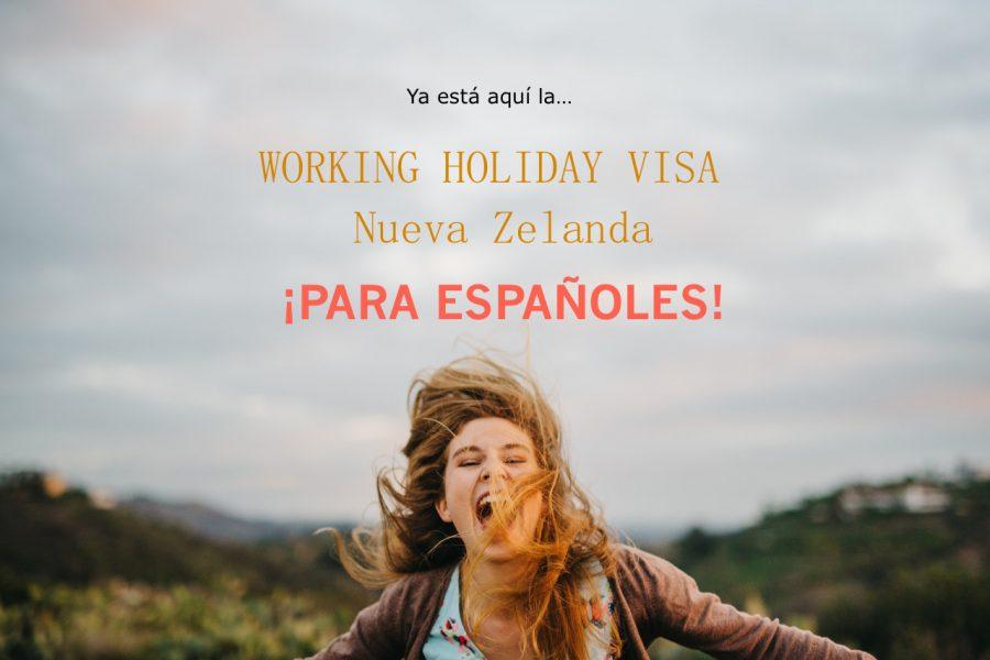 Visa Working Holiday Nueva Zelanda 2017 para Españoles