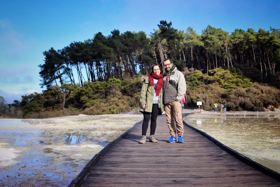 Alberto y Yolanda - Fainders New Zealand