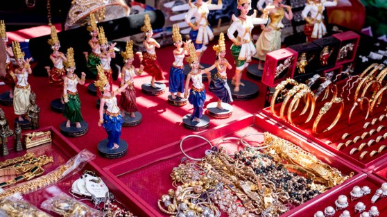 Khmer trinkets at the Stockton celebration.