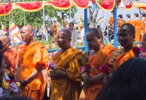 Monks in Stockton.