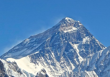 Mt Everest.