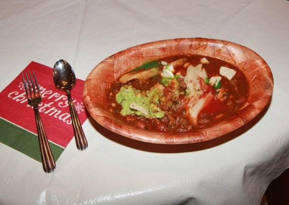 tamales and chili.