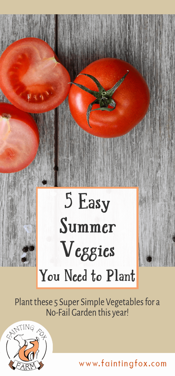 5 summer veggies