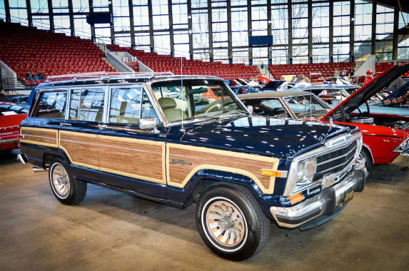 1987 Jeep Grand Wagoneer - NC Auto Expo 2017