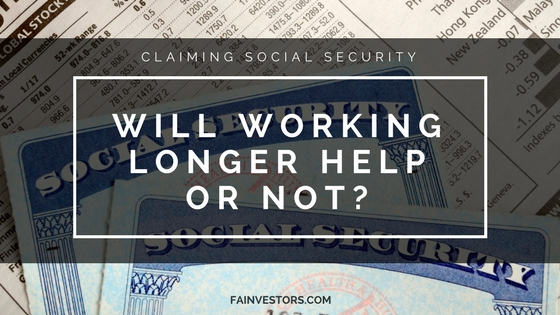 Will Working Longer Help? Social Security