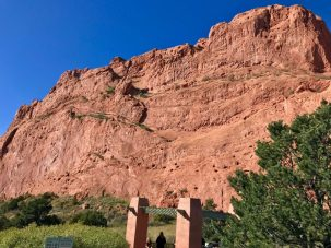 Garden of the Gods in Colorado Springs, Colorado