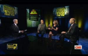 NRDC's Dale Bryk provides the only voice of skepticism on CNN's nuclear roundtable following the network's airing of pro-nuke documentary Pandora's Promise.