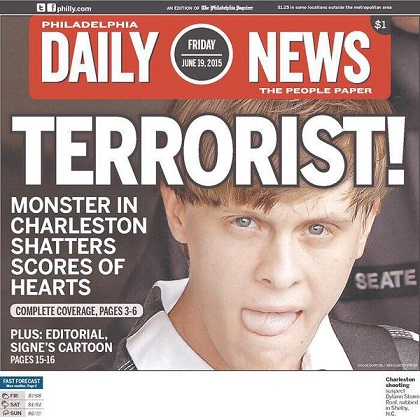 Philadelphia Daily News: Terrorist!