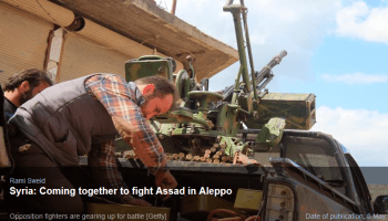 New Arab: Coming Together to Fight Assad in Aleppo
