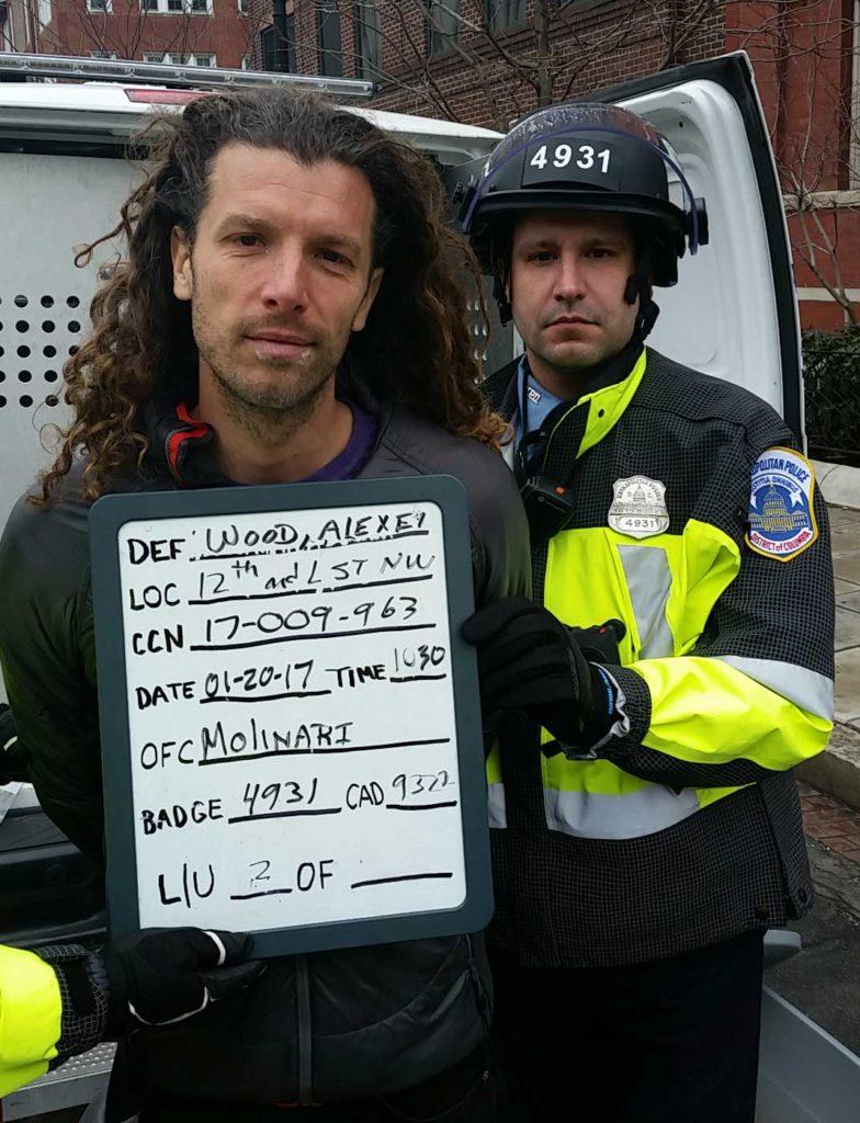 Alexei Wood arrest photo