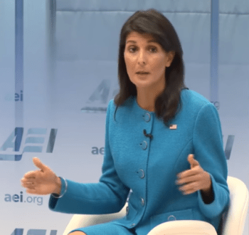 Nikki Haley at AEI
