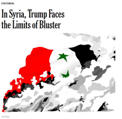 New York Times: In Syria, Trump Faces the Limits of Bluster