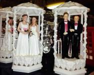 Wedding cake tops (cc photo: Gexydaf)