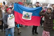 Haitian immigration protest, St. Paul (cc photo: Fibonacci Blue)