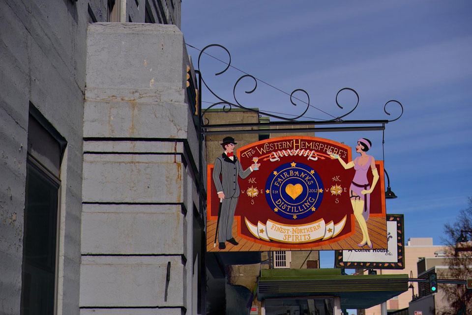 Fairbanks Distillery in Historic Old City Hall