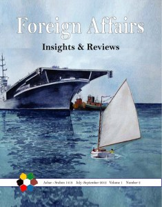 2nd issue of Foreign Affairs Insights & Reviews (FAIR)